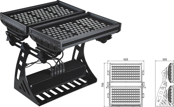 Guangdong udhëhequr fabrikë,ndriçimi industrial i udhëhequr,Rondele me ndriçim LED 500W IP65 DMX 2, LWW-10-206P, KARNAR INTERNATIONAL GROUP LTD
