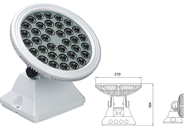 Led drita dmx,LED dritat e përmbytjes,25W 48W Sheshi me rondele mur LED 2, LWW-6-36P, KARNAR INTERNATIONAL GROUP LTD