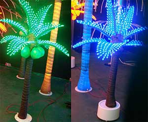 LED dritë palme kokosit KARNAR INTERNATIONAL GROUP LTD